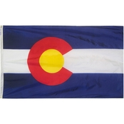 Annin Flagmakers Colorado State Flag
