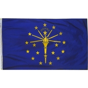 Annin Flagmakers Indiana State Flag