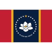 Annin Flagmakers Mississippi State Flag