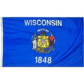 Annin Flagmakers Wisconsin State Flag