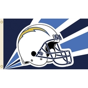 Annin NFL Los Angeles Chargers 3 ft. x 5 ft. Flag