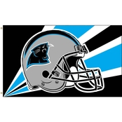 Annin NFL Carolina Panthers 3 ft. x 5 ft. Flag