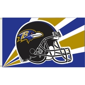 Annin NFL Baltimore Ravens 3 ft. x 5 ft. Flag