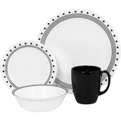 Corelle City Blocks 16 pc. Dinnerware Set