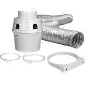 Dundas Jafine ProFlex Indoor Dryer Vent Kit with 4 in. x 5 ft. Duct