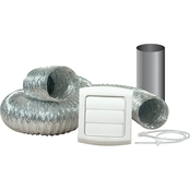 Dundas Jafine ProVent Dryer Vent Kit with 4 in. x 8 ft. ProFlex Duct
