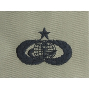 Air Force Senior Force Support Badge, Sew-On (ABU)