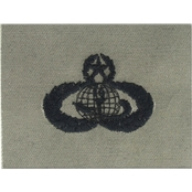 Air Force Master Force Support Badge, Sew-On (ABU)