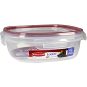 Rubbermaid Lock-its 9 Cup Square Food Storage Container