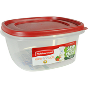 Rubbermaid 14 Cup Square Easy Find Lids Container