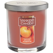 Yankee Candle Spiced Pumpkin Small Tumbler Candle
