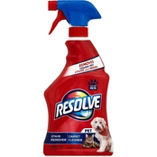 Resolve Pet Stain Remover Carpet Cleaner Spray
