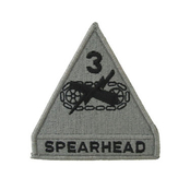Army Unit Patch 3rd Armored Division Spearhead
