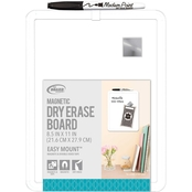 The Board Dudes Magnetic Dry Erase Plastic Framed Board
