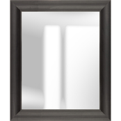 Pinnacle Gallery Solutions Wide Black Mirror 21 x 25