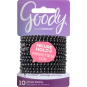 Goody SlideProof 4mm Hair Elastics, 10 Ct.