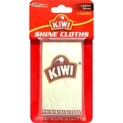 Kiwi Shoe Shining Cloth 2 Pk.