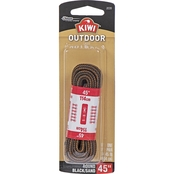 Kiwi Outdoor Round Brown Laces, 1 Pair