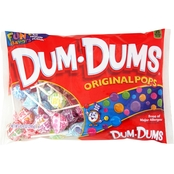 Dum Dums Assorted Lollipops, 10.4oz. Family Size