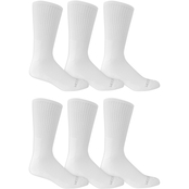 Fruit of the Loom Crew Socks 6 Pk.