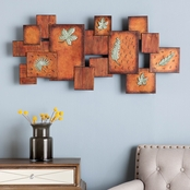 SEI Leaves / Abstract Wall Art Panel