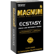 Trojan Magnum Ecstasy Ultra Smooth Lubricated Condom 10 pk.