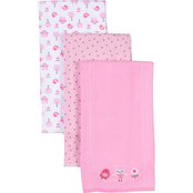 Gerber Knit Burp Cloth 3 pk.