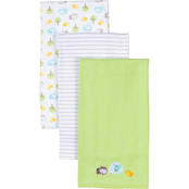 Gerber 3 pk. Knit Burpcloth