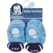 Gerber Infant Boys Velboa Booties, 0-6 months
