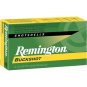 Remington Express 20 Ga. #3 Buckshot 2 3/4 Dram 20 Pellets, 5 Rounds