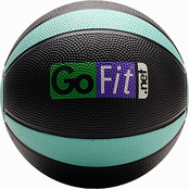 GoFit 4 lb. Medicine Ball with Core Performance Training DVD