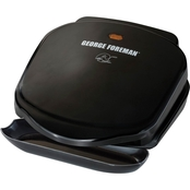 George Foreman 2 Servings Classic Plate Electric Grill