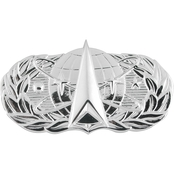 Air Force Basic Space/Missile Badge, Pin-On