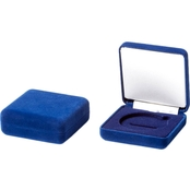 Challenge Coin Blue Velvet Presentation Box
