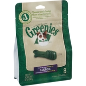 Canine Greenies Dental Chew Treats for Dogs