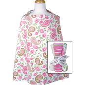 Trend Lab Nursing Cover with 4 pk. Burp Cloths