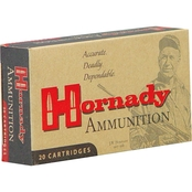 Hornady Match .223 Rem 75 Gr. Boat Tail Hollow Point, 20 Rounds
