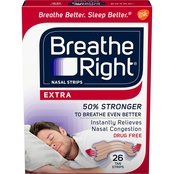 Breathe Right Extra Nasal Strips 26 Ct.