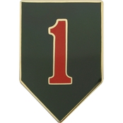 Army CSIB 1st Infantry Division Insignia