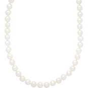 14K Yellow Gold 6-6.5mm Freshwater Pearl Necklace