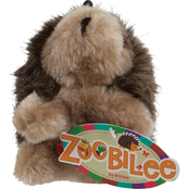 Petmate Zoobilee Plush Hedgehog Medium Dog Toy