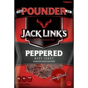 Jack Links Beef Peppered Pounder Jerky Bag