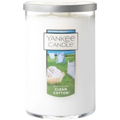 Yankee Candle Clean Cotton 2 Wick Tumbler Candle