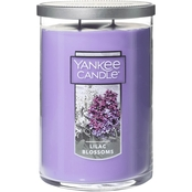 Yankee Candle 2 Wick Lilac Blossom Tumbler Candle, Large