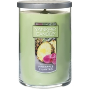 Yankee Candle Pineapple Cilantro Large 2 Wick Tumbler Candle
