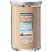 Yankee Candle Sun and Sand Large 2 Wick Tumbler Candle