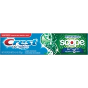 Crest Complete Whitening Plus Scope Outlast Mint Toothpaste