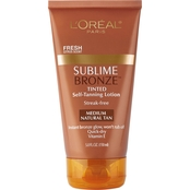 L'Oreal Sublime Bronze Tinted Self-Tanning Lotion 5 Oz.