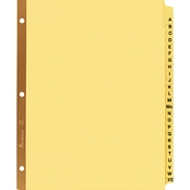 Avery Letter Size Preprinted Laminated Tab Dividers 25 Tab Set