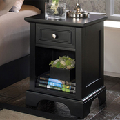 Home Styles Bedford 1 Drawer Nightstand
